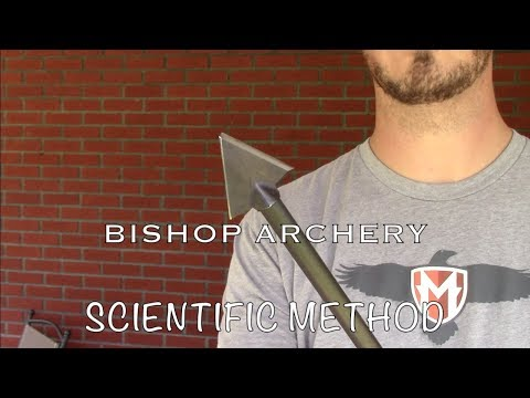 Bishop Archery Broadheads: Scientific Method 2 Blade Single Bevel