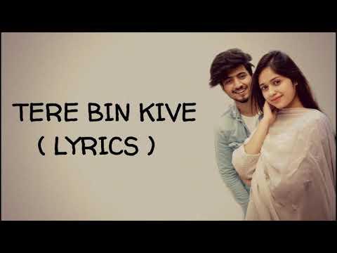 (LYRICS)   Tere Bin Kive  Jannat Zubair Mr. Faisu   Ramji Gulati   Lyrical live   WhatsApp status