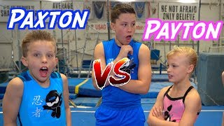 Video Sister VS Brother TWIN Gymnastics Rematch! MP3, 3GP, MP4, WEBM, AVI, FLV Februari 2019