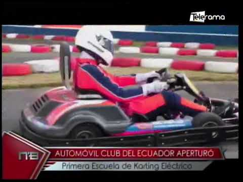 Automóvil Club del Ecuador aperturó primera escuela de Karting Eléctrico