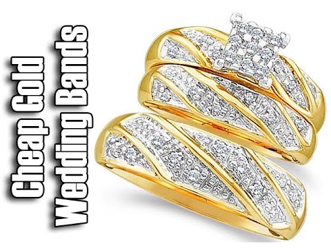 Cheap Gold Wedding Bands-Matching Wedding Bands-His And Hers Wedding Bands White Gold