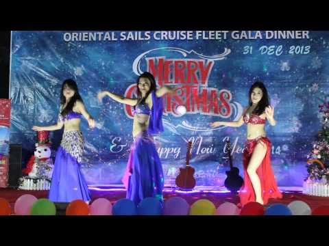 Belly Dance in Oriental Sails New Year Eve Gala Dinner 2014