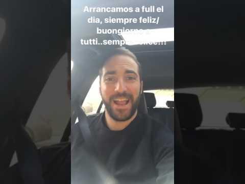 Higuain canta in auto… o vuole cantarle al Napoli?