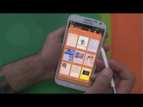 Samsung Galaxy Note 2 hands-on and initial review