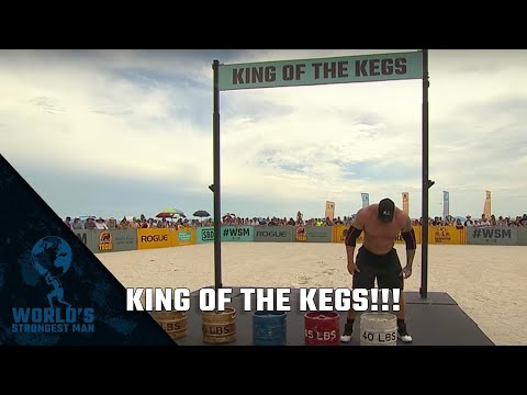2019 World's Strongest Man | King of the Kegs Part 1