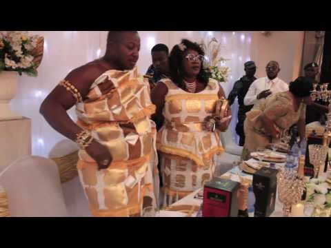 Mercy Asiedu And Husband Display At Vivian Jill Lawrence's Son's Naming Ceremony