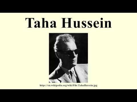 Taha Hussein