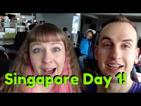 Singapore - We arrived in Singapore! Here's Day 1 of our adventures here. We met a bunch of lovely Nasties at the airport, ate food awkwardly by ourselves, and hacked in...