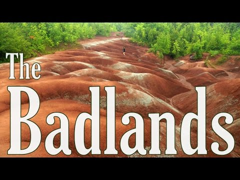 VIDEO: Cheltenham Badlands