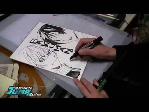 【ハイレベル】漫画家がフリーハンドで描く絵が上手過ぎる!