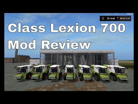 Claas Lexion 700 Series Full Pack v1.0