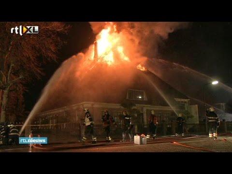 Brand boerderij topcrimineel Nico V. waarschijnlijk aanslag