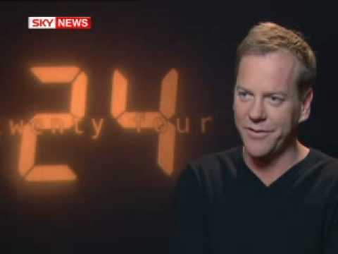 Kiefer Sutherland and Robert Carlyle interviewed by Sky News