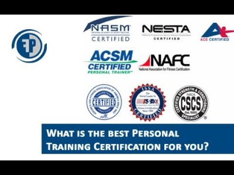 Best Personal training certification (видео)
