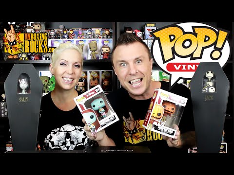 NIGHTSHADE SALLY and PUMPKIN KING Funko POP Vinyls – Unboxing Review