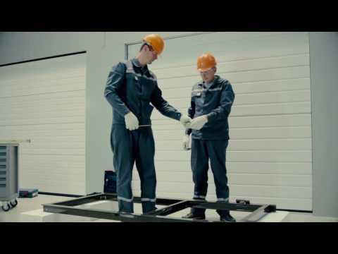 Видеоурок по монтажу калитки ADS400
