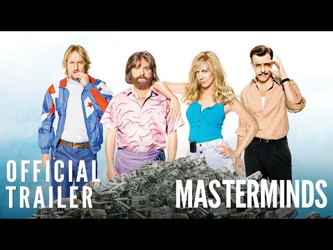 Masterminds Official Trailer