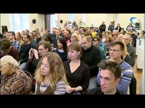Писатель и общественный деятель Эдуард Лимонов вновь пообщался с новгородцами