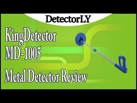 KingDetector MD-1005 Metal Detector Review