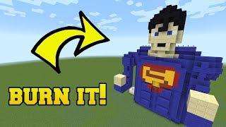Video IS THAT SUPERMAN?!? BURN HIM!!! MP3, 3GP, MP4, WEBM, AVI, FLV Maret 2018