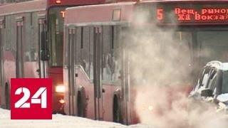 В Татарстане на трассе спасли замерзающих людей