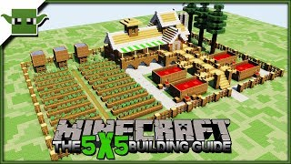 1.14 Berry Farm |The Minecraft 5x5 Building Guide|