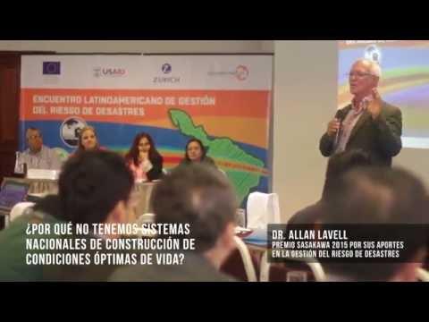 Encuentro Latinoamericano de Gestión del Riesgo de Desastres