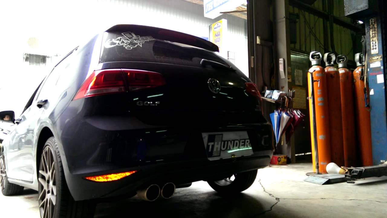 雷力VW GOLF 7th 1.4 TSI 全段排氣系統 │ THUNDER VW GOLF 7th 1.4 TSI Exhaust system