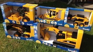 BRUDER Construction TOYS CAT Excavator Buldozer