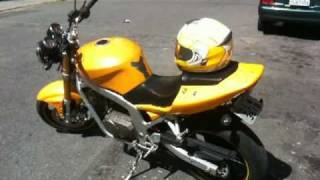 8. R.A.Motors - Hyosung Comet GT 250 Exhaust CarbonRace - Ricardo