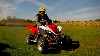 3. Yamaha Raptor 700r Review