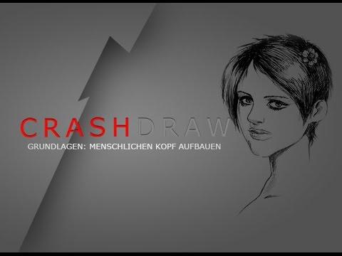 Wie zeichnet man einen Kopf? Zeichnen lernen leicht gemacht von Fargus Design CrashDraw