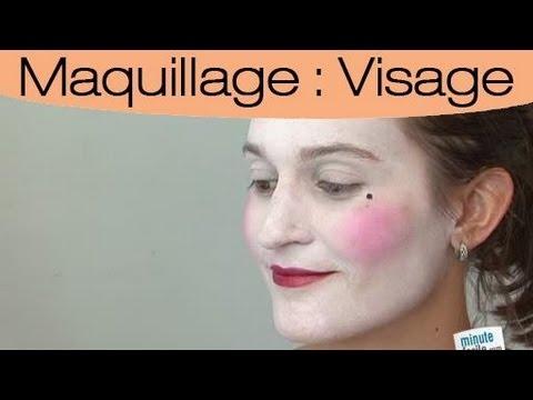 Realiser un maquillage du 18e siècle