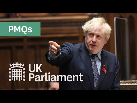 Prime Minister's Questions with British Sign Language - 2nd December 2020