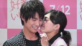 【ゆるコレ】川口春奈、福士蒼汰のほっぺにチュッ!