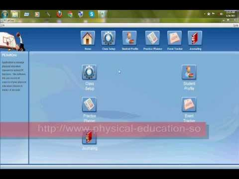 physical education software