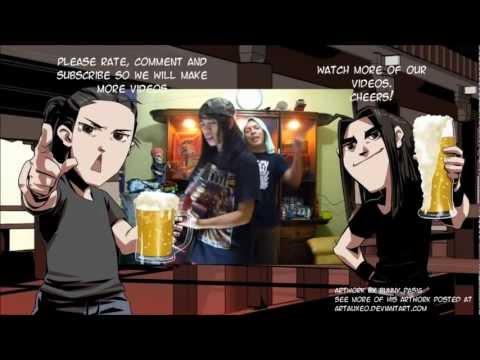 Funny Drunk Filipinos : how to create a pinoy mixed drink. Redjin ang pambansang alak