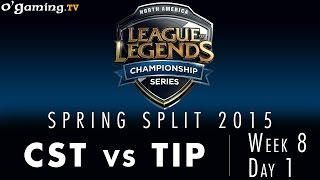 LCS NA Spring 2015 - W8D1 - CST vs TIP