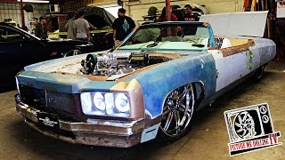 Crazy Custom Chop Top Donk | Branded Customs - PMR TV