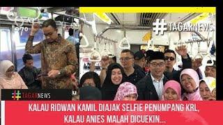 Video Kalau Ridwan Kamil Diajak Selfie Penumpang KRL, Kalau Anies Malah Dicuekin MP3, 3GP, MP4, WEBM, AVI, FLV November 2018