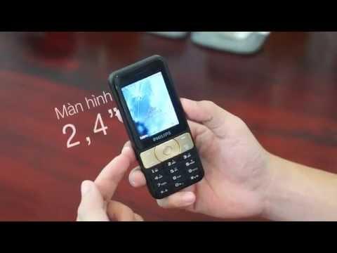 Trên tay Philips E180: Chiếc điện thoại 4 tháng không cần sạc điện