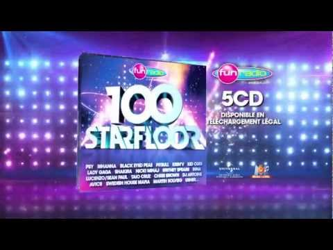 100 Starfloor - la compilation 5 CD's Fun Radio