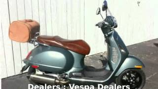7. 2008 Vespa Granturismo 200 -  Details Top Speed motorbike Dealers superbike Transmission