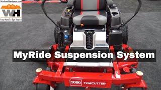 2. #Toro Timecutter MyRide Suspension System For Zero Turn Riding Lawn Mower | Weekend Handyman