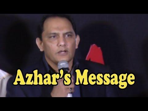 Mohammad Azharuddin's Message To All The Critics