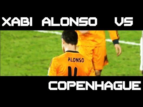 Xabi Alonso vs Copenhague FCK Kobenhavn Away ( 10/12/2013 - 10 - 12 - 2013 / 10.12.2013 ) [HD] (видео)