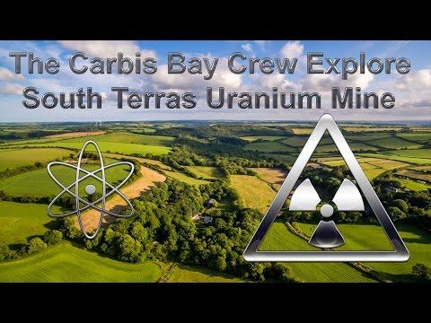 The Carbis Bay Crew explore South Terras Uranium Mine