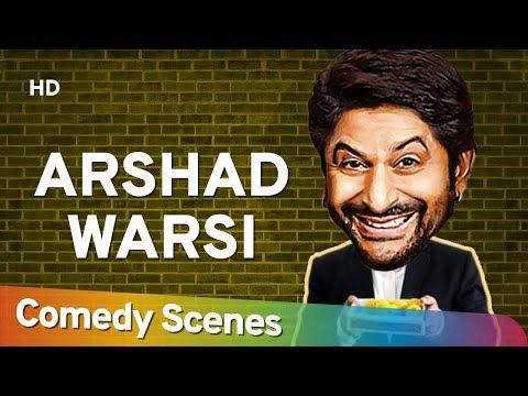 Arshad Warsi Comedy Scenes - Bollywood Best Comedian - अरशद वारसी हिट्स कॉमेडी सीन्स - #Hit Comedy
