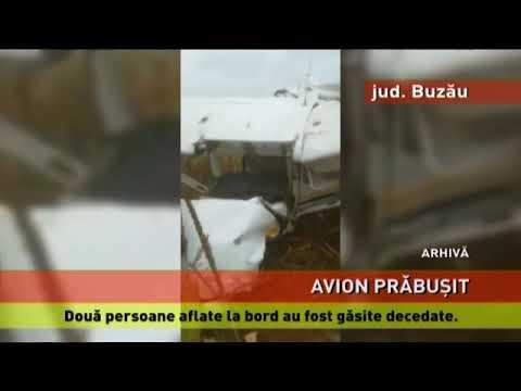 Avion de mici dimensiuni, prăbușit la Nehoiu