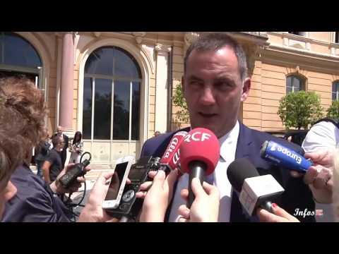 Retour en images sur la visite de Manuel Valls en Corse